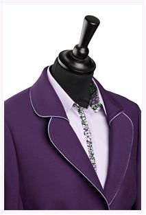 lilac business suit