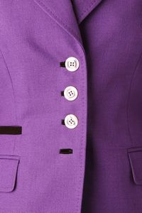 jacket in purple close up
